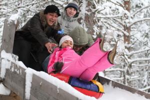 Новый год в Карелии с детьми