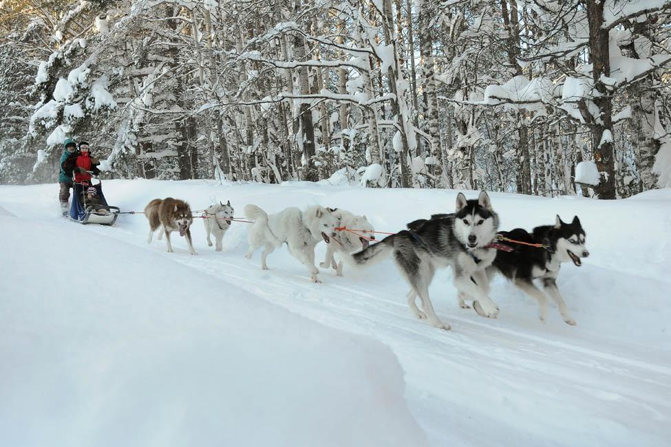 Недорогой отдых в Карелии зимой