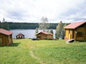 Снять дом у озера в Карелии недорого для всей семьи